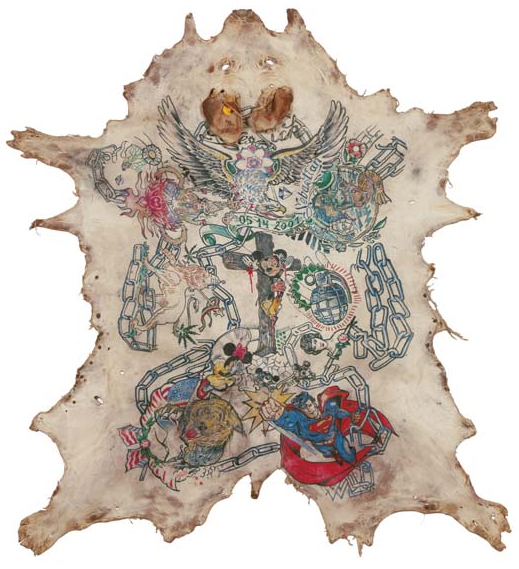 The olsson art collection from the olsson art collection for Pig skin tattoo